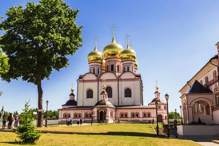 Valdai Iversky Bogoroditsky Svyatoozersky Monastery, Assumption Cathedral, Novgorod Region, Russia