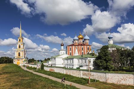Ryazan Kremlin. Ryazan historical-architectural museum-reserve. Ryazan. Russia