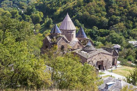 Goshavank-Armenian medieval monastery complex XII-XIII centuries in the village of gosh in Armenia.