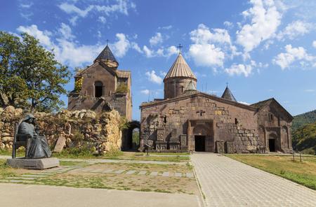 Goshavank-Armenian medieval monastery complex XII-XIII centuries in the village of Gosh in Armenia. 版權商用圖片