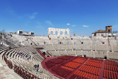 Arena di Verona - ancient Roman amphitheatre in Verona, Italy