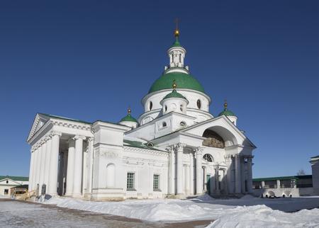 Rostov Veliky. Spaso-Yakovlevsky monastery. Cathedral in honor of St. Demetrius of Rostov. Russia