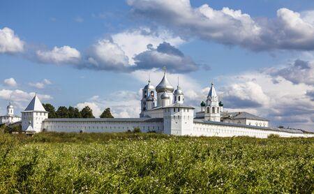 Panorama of Nikitsky monastery, Pereslavl Zalessky, Yaroslavl region, Russia