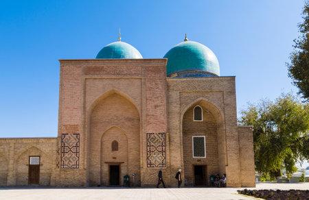 Gumbazi-Seyidan Mausoleum in the city of Shakhrisabz in the Republic of Uzbekistan Editöryel