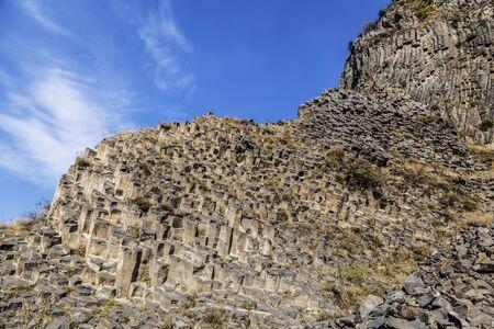 Basalt gorge of Garni in Armenia in the Kotayk region, near the village of Garni