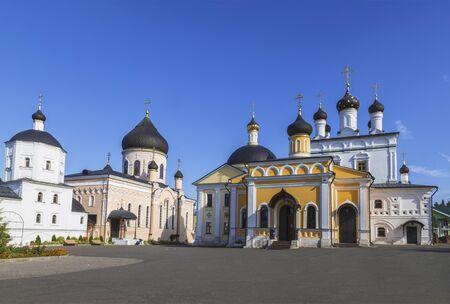 Voznesenskaya Davidova Pustyn is a monastery located in Chekhov district of Moscow region. Russia