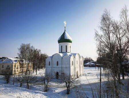 Spaso-Preobrazhensky Cathedral in Pereslavl-Zalessky, Yaroslavl region, Russia