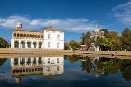 Beautiful view of Sitorai-Mohi-Khosa Palace Standard-Bild