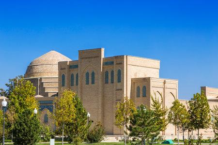 Architectural complex of Chubin madrassah in Shakhrisabz, Uzbekistan