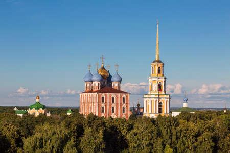 Panorama of the Ryazan Kremlin. Ryazan, Russia