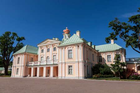View from the courtyard of the Grand Menshikov Palace, Lomonosov, Leningrad region, Russia