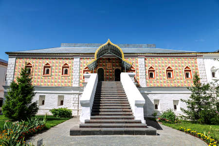 Ipatiev Monastery, the Chambers of the Romanov Boyars. Kostroma, Golden Ring, Russia
