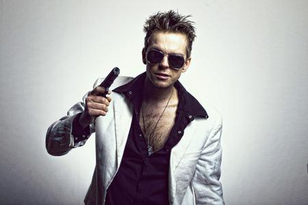 cosa: Member mafia style Stock Photo
