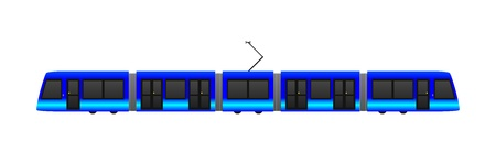 high speed railway: tram