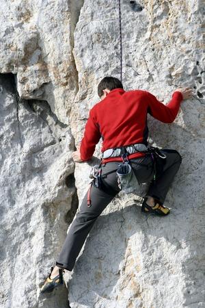 free climber: Climber.