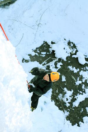 ice climbing: Ice climbing the North Caucasus.