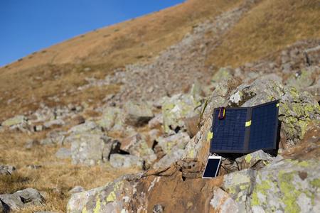 panel: Solar panel.