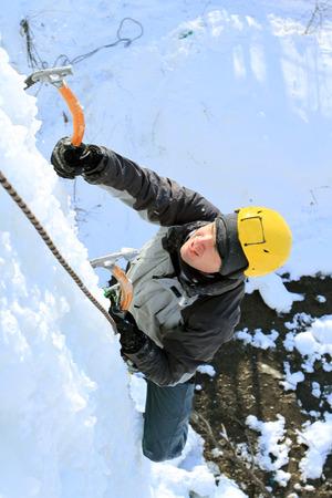 ice climbing: Ice Climbing.