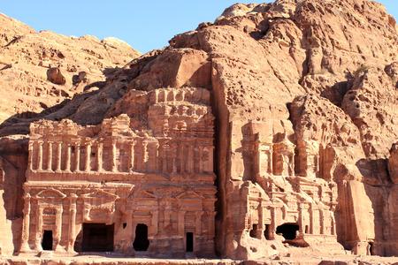 antik: Petra - Nabataeans capital city Al Khazneh, Jordan.