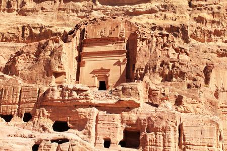nabataeans: Petra - Nabataeans capital city Al Khazneh, Jordan.