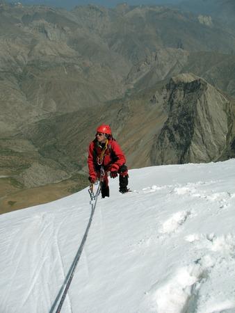 monch: Winter alpine trekking