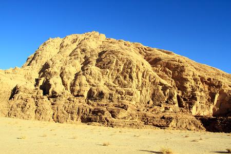 wadi: Wadi Rum desert, Jordan.