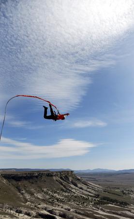 caida libre: saltar la cuerda