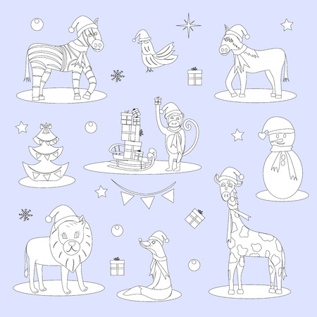 338 Horse Sleigh Stock Vector Illustration And Royalty Free Horse