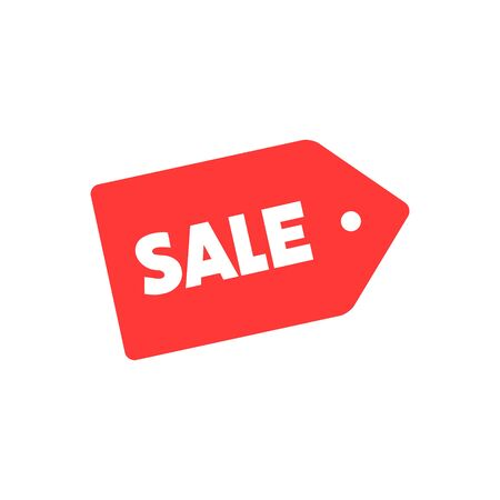 Sale icon vector illustration isolated on the white background