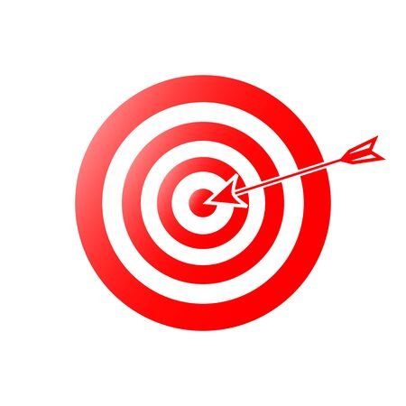 Magnificent design of a cervical target with an arrow