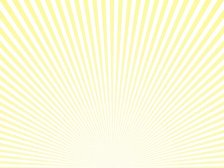 Sunlight abstract yellow background. Retro bright backdrop with sun rays vector illustration