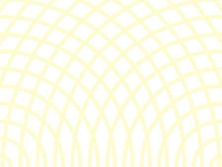 Abstract yellow background. Retro bright backdrop with rays vector illustration