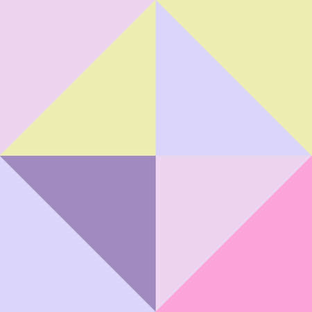 Abstract colorful background with square and triangle frames. Geometric background texture for business cards, banners, presentations and sites.  イラスト・ベクター素材