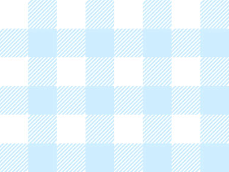 Blue and White Lumberjack plaid seamless pattern. Simple vintage textile design. Scottish cage. Tartan plaid abstract checkered background