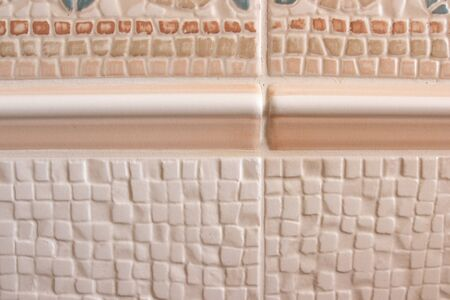 wall tile lay on the wall