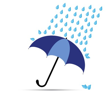 damp: umbrella Illustration