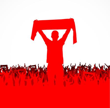 Banner voor sport kampioenschappen en concerten