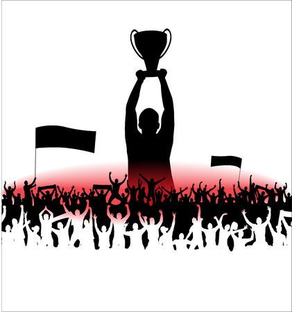 Champions Cup. Poster Illustration