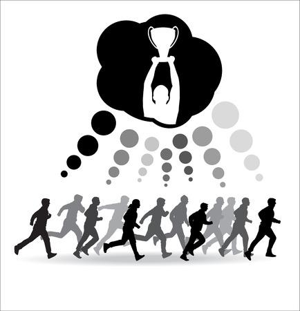 cheer leader: Runners tend to Cup winner