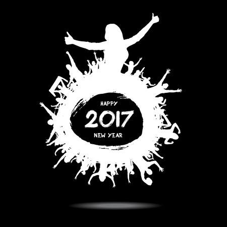 Happy New Year 2017 from the cheering fans