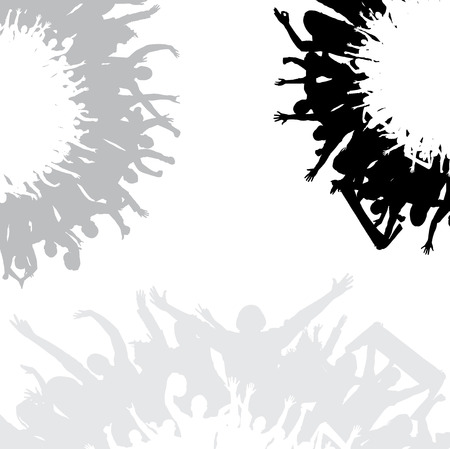 Posters for sporting events and concerts. Ilustração