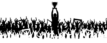 Background with cup Ilustração