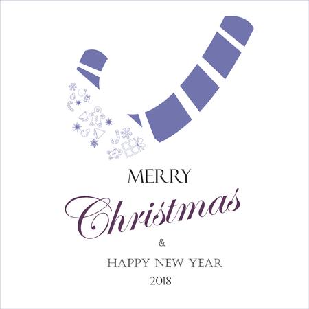 クリスマスカード2018