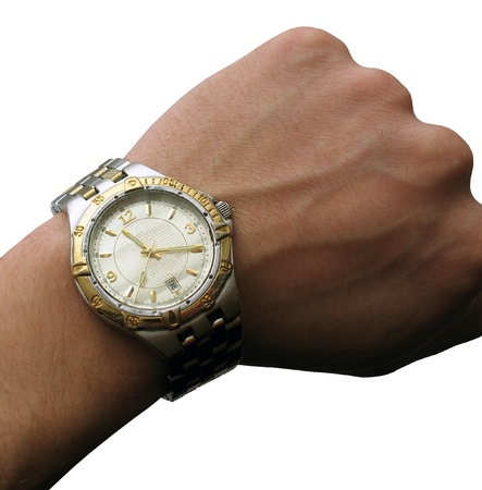wristwatch: wrist watch isolated, insulated, with clipping path for photoshop, with path, for designer