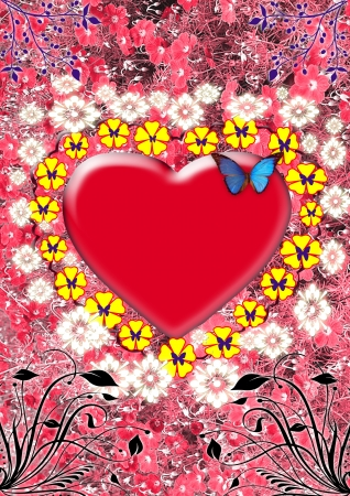 heart for you love, valentines day, art-design, celebrations photo