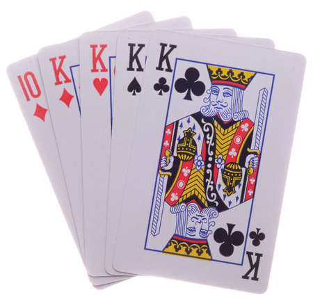 four of a kind: Four-of-a-Kind.Poker.Playing Cards