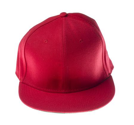 headgear: red headgear isolated on white background.isolated on white background.