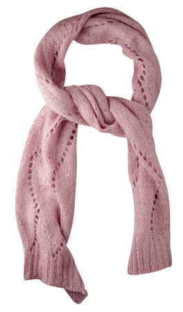 Scarf isolated on white background.Scarf top front view .