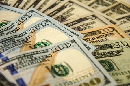 dollar bills: Background with money american dollar bills