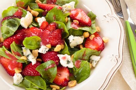 Spinach salad. photo